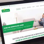 webdesign webshop referenz biozem