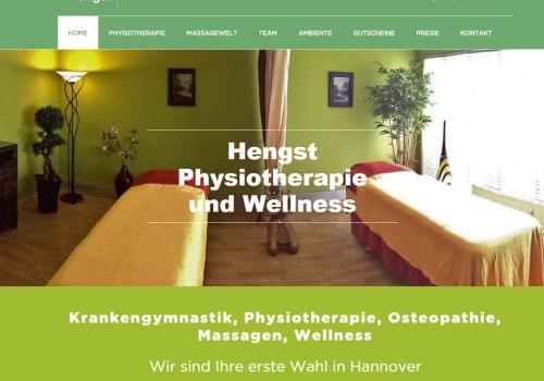 Internetpräsenz für Physiotherapie