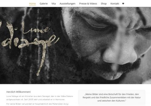 Onlineshop für Künstler