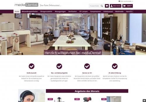 Onlineshop für Praxisausstattung für Zahnärzte