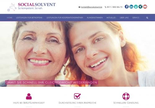 Internetauftritt für Dienstleistungsunternehmen
