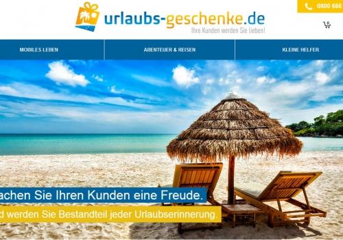Onlineshop für Urlaubsgeschenke