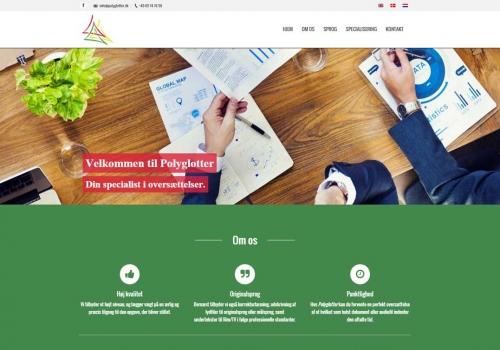 Internetauftritt für Übersetzungsagenturen