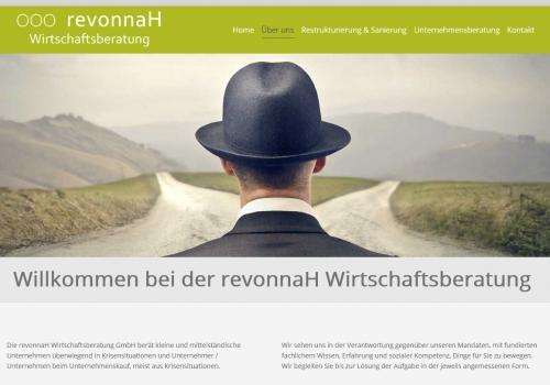 Internetauftritt für Unternehmensberatung