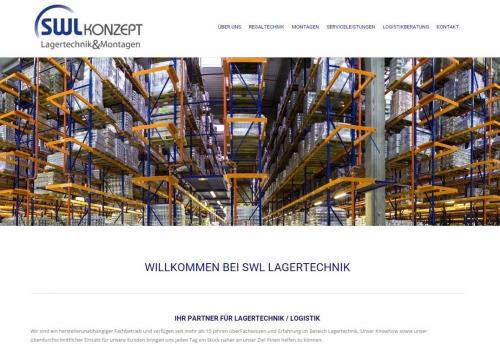 Internetauftritt für Logistik